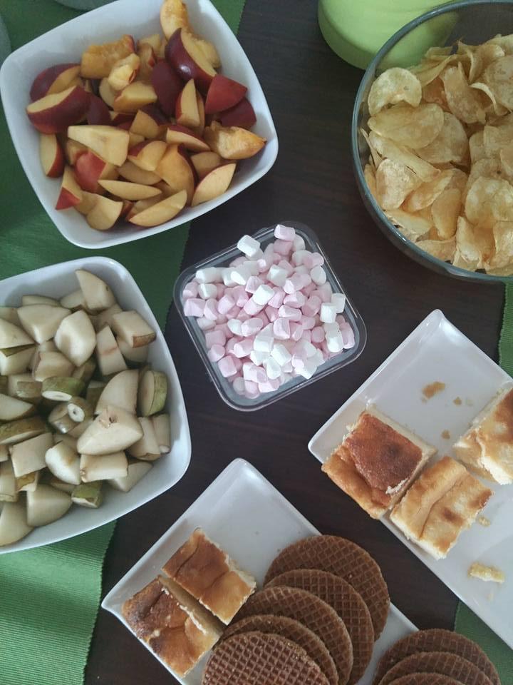Hen party food